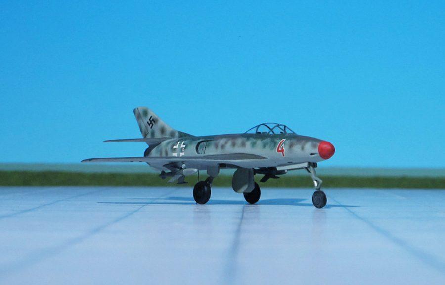 Messerschmitt Me P.1110/I and Kramer X-4
